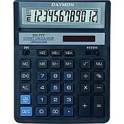 Калькулятор Daymon DC-777 Blue бухгалтерский 12р.