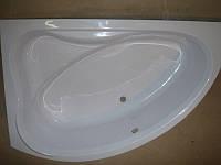 Ванна акрилова КМТ Азур 150 X 100 4мм ліва з ніжками та панелькою
