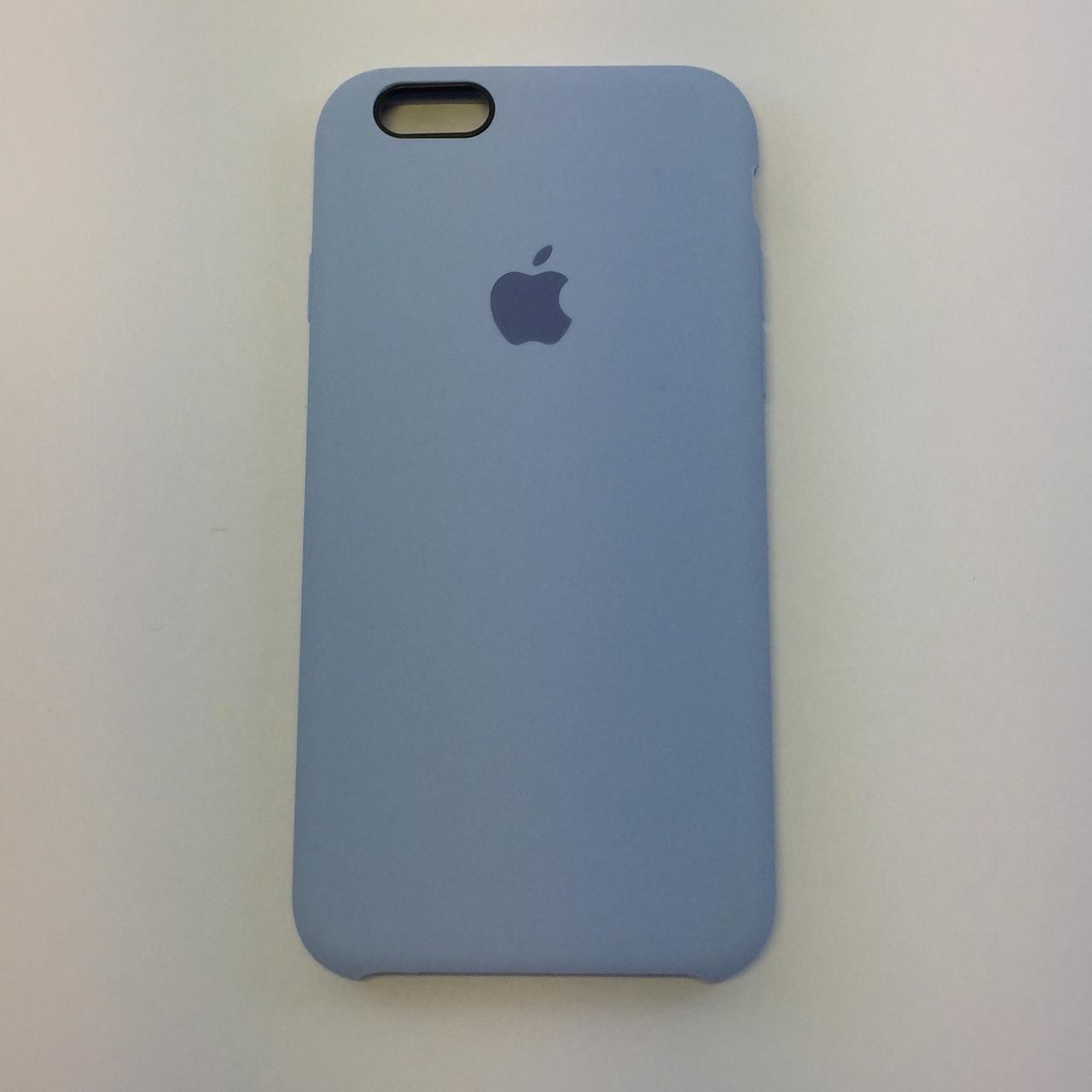 Силиконовый чехол для iPhone 6/6s Plus, - «кремово лиловый» - copy original