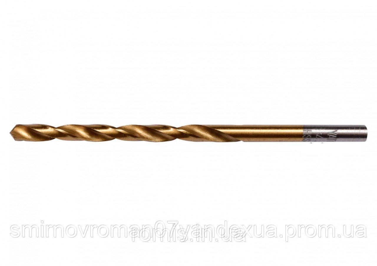 Свердло по металу титанове YATO : HSS-TIN, Ø= 4.2 мм, l= 75/43 мм