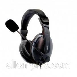 Наушники с микрофоном и регулятором громкости HAVIT HV-H139d, gray (PC/XBOX/PS4)