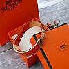 Браслет Hermes (реплика) розовое золото, эмаль, фото 3