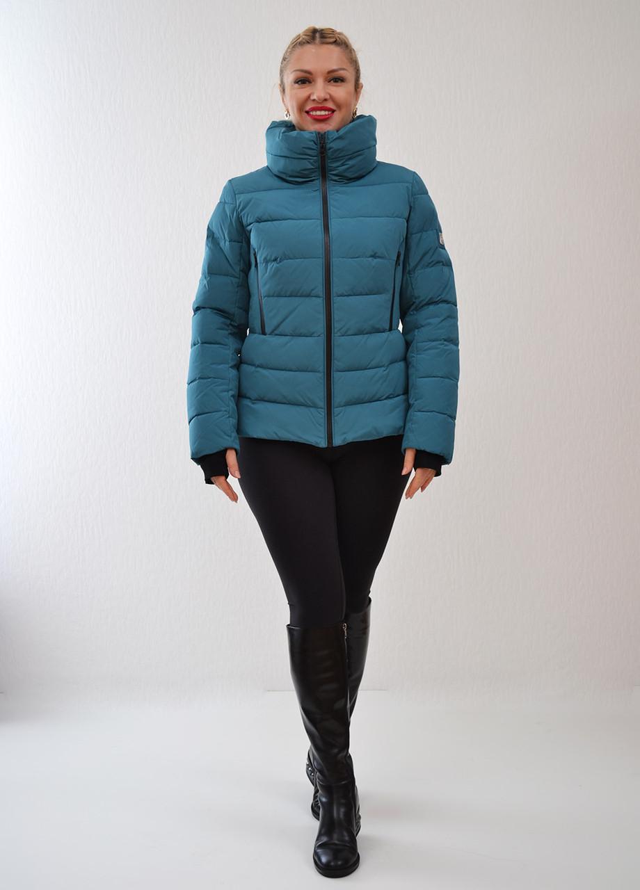 0ff4637e3fb Зимняя куртка Snowimage цвета морской волны арт. 4495