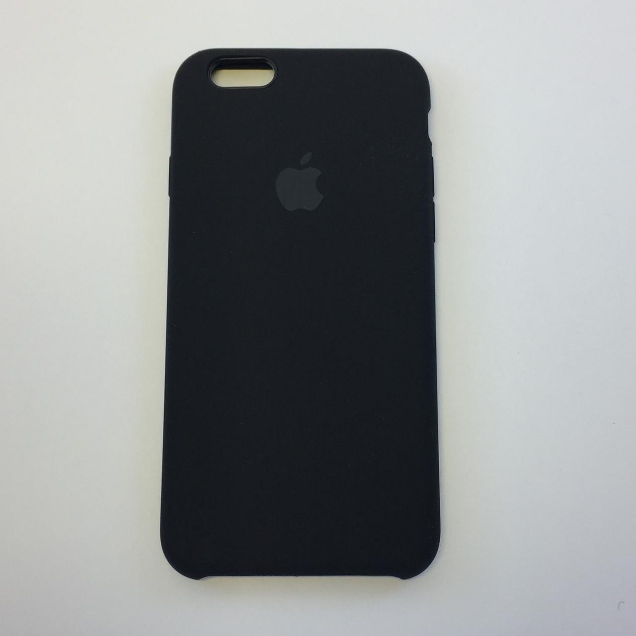 Силиконовый чехол для iPhone 6/6s, - «черный» - copy original