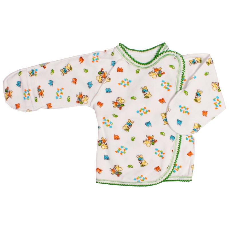 Распашонка для новорожденных теплая