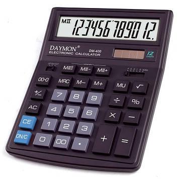 Калькулятор Daymon DM-400 бухгалтерский 12р.