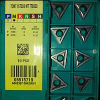 Пластина TCMT 16T308 MT TT8020 TaeguTec Пластина твердосплавная трехгранная