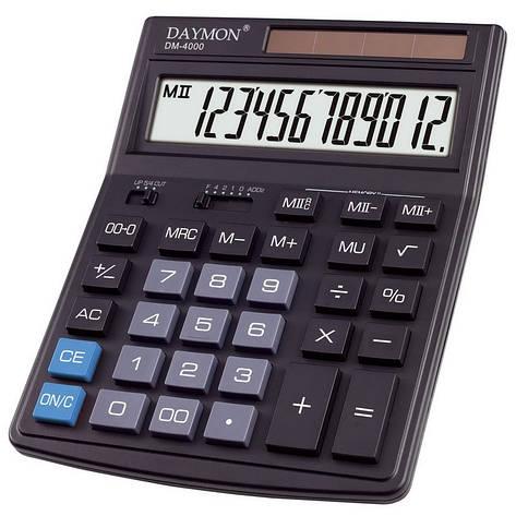 Калькулятор Daymon DM-4000 бухгалтерский 12р., фото 2