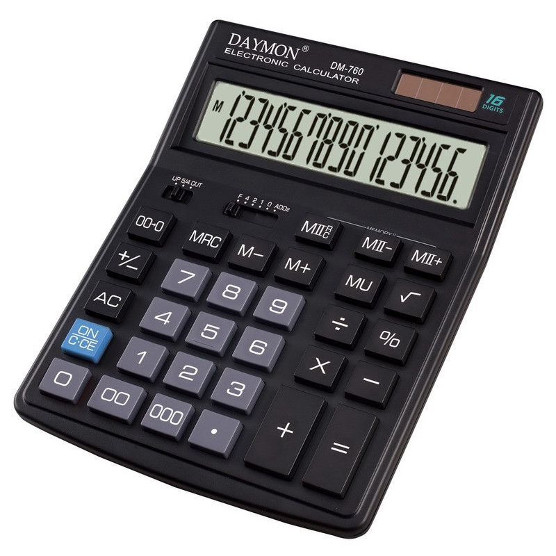 Калькулятор DM-760 бухгалтерский 16р.