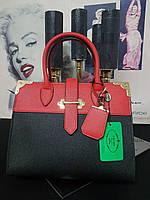 ХИТ.  Брендовая кожаная шикарная сумочка. Сумка PRADА  Original quality