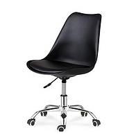 Кресло на колесах Астер, сиденье с подушкой, цвет Белый, черный, серый