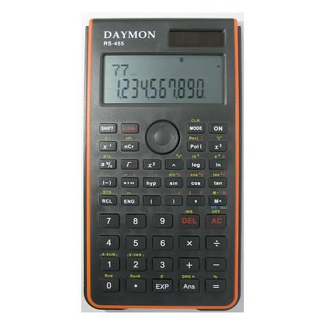 Калькулятор Daymon RS-455 научный, 240 функций, фото 2
