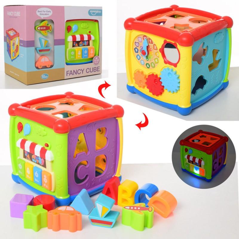 """Интерактивный сортер-куб """"Fancy Cube"""" HE0520"""