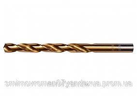 Свердло по металу титанове YATO : HSS-TIN, Ø= 8.0 мм, l= 117/75 мм