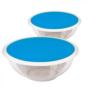 Набор стеклянных мисок FIREX 2 шт (236754) Круглых