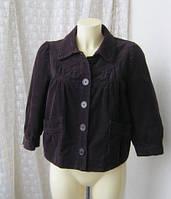 Жакет куртка женская вельвет  H&M р.46-48