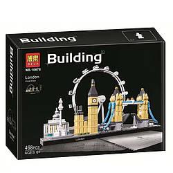 """Конструктор Bela 10678, """"Лондон"""" 468 деталей (аналог Lego Architecture 21034)"""