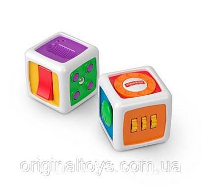 Fisher-Price Развивающая игрушка Кубик My First Fidget Cube FWP34