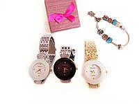 Женские часы В стиле Baosaili +  браслет Pandora в подарок, фото 1