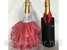 Декор бутылок для шампанского