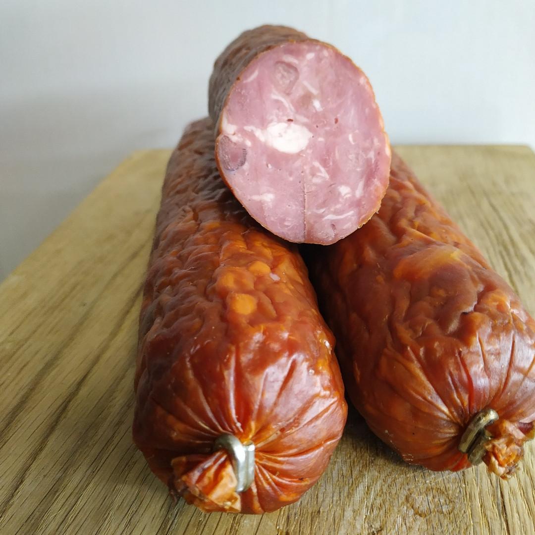 Ковбаса з баранини від баранчика Борьки еко-ферма Lacon