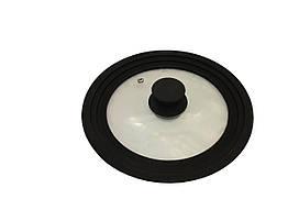 Крышка универсальная Vitrinor Black 1108470 (18/20/22см)