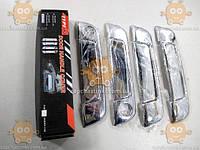 Накладки ручек дверных BMW B3 E36 1991-98г. (ХРОМ!) (к-кт 4+4шт) (пр-во TYPER Польша)