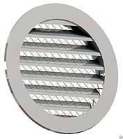 Приточно-вытяжная решетка 200 мм, металлическая, фото 1