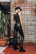 Женские брюки из эко-кожи Размеры  42-44,44-46, фото 3