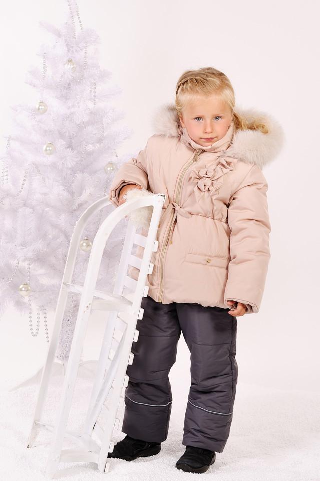 Куртка зимняя для девочки 'Ваниль'