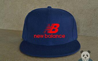 Снепбек New Balance темно-синего цвета (люкс копия)