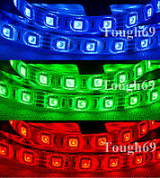Dilux - Светодиодная лента RGB 5050 60LED/m, влагозащищенная IP65.