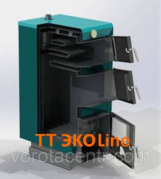 Твердотопливный котел ProTech ТТ ЭкоLine — 25c кВт. (Украина)