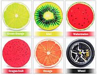 Подушка - килимок колір фрукта miss doggy #1083