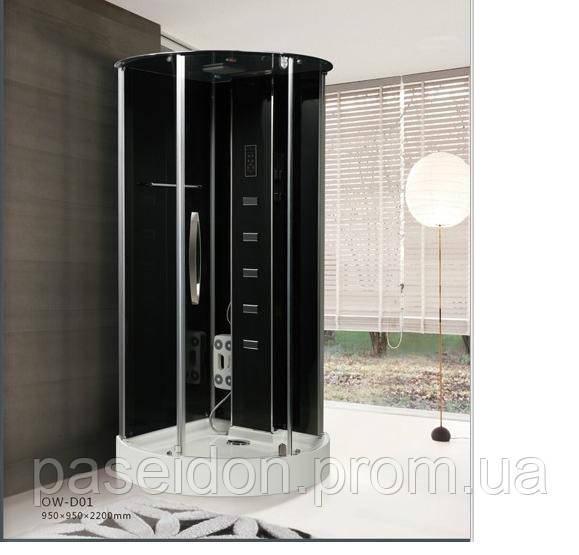 Гидромассажная кабина 95*95 Eco Lux D01