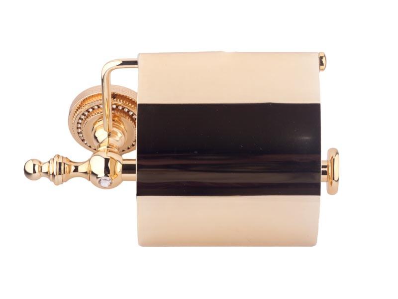 Тримач для туалетного паперу KUGU Eldorado золото