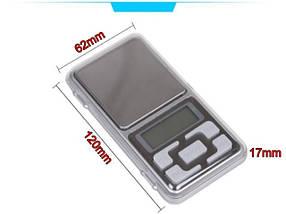 Pocket Scale MH-500 – высокоточные ювелирные весы, карманные , фото 3
