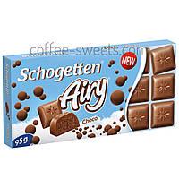 Молочный шоколад Schogetten Airy Choco 95 гр