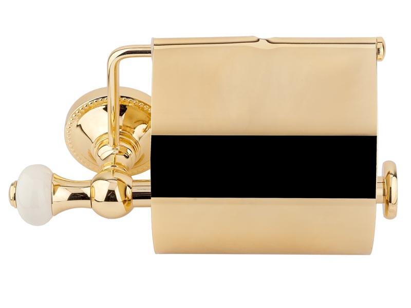 Тримач для туалетного паперу KUGU Pan золото