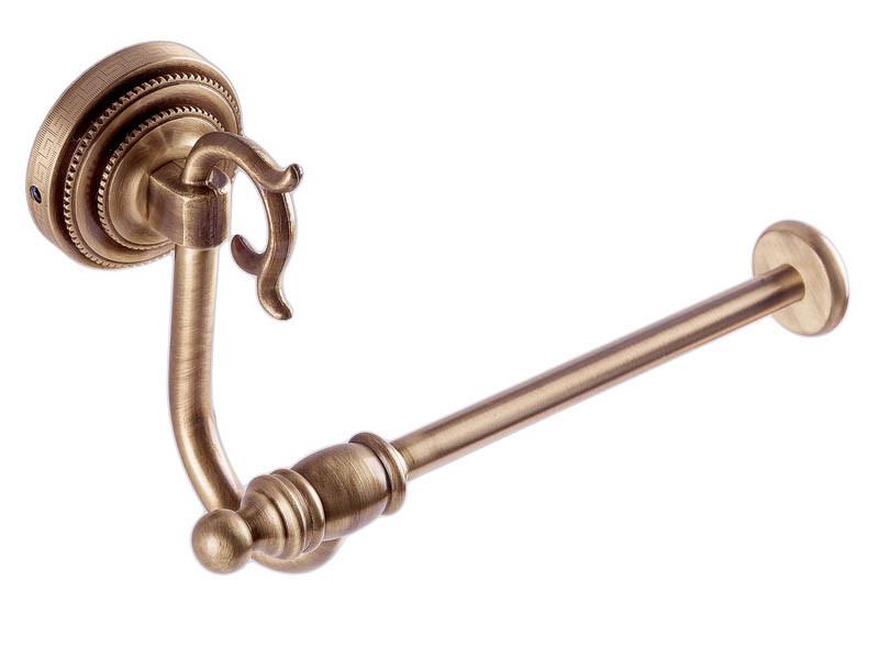 Тримач для туалетного паперу KUGU Versace Antique бронза