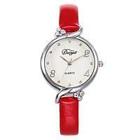 Модные женские наручные часы с красным ремешком | 20608-3, фото 1