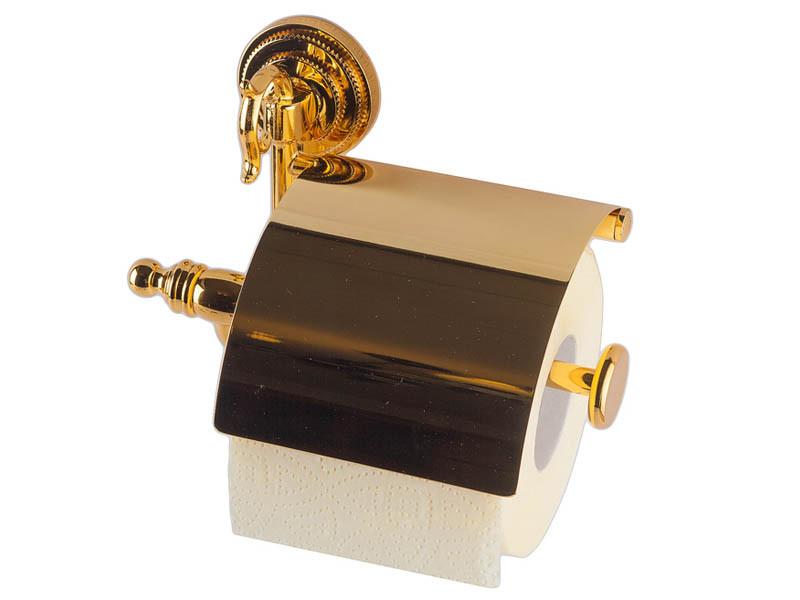 Тримач для туалетного паперу KUGU Versace золото