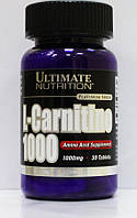 Ultimate Nutrition L-Carnitine 1000mg, 30 tabs