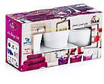 Набор аксессуаров для ванной комнаты Irak Plastik BA-280, фото 6