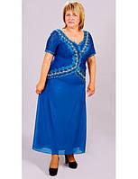 Платье Ручная вышивка(батал)