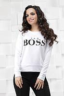 Свитшот женский Boss батал  пуд020, фото 1
