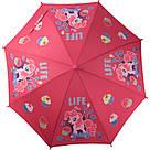 Зонт-трость Kite Kids My Little Pony полуавтомат LP19-2001, фото 2