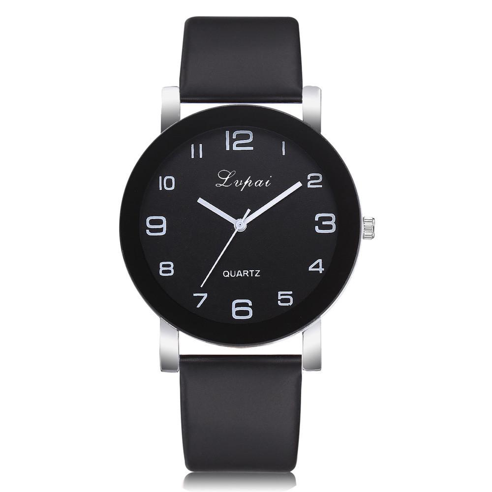 Женские наручные часы Lvpai с черным ремешком   80613-2
