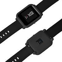 Amazfit Bip Защитный силиконовый чехол для смарт часов, Black, фото 7