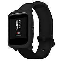 Amazfit Bip Защитный силиконовый чехол для смарт часов, Black, фото 3